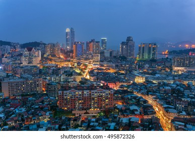 Xiamen city scenery Zhongshan Road