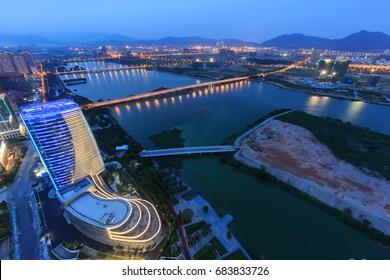 Xiamen Xinglin Bay City Scenery In Fujian,China