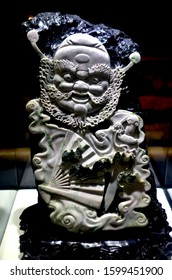 Xi'an (China) 11-07-2016 Stone sculpted relief