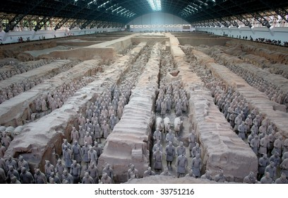 Xian Terracotta Warriors and Horses,