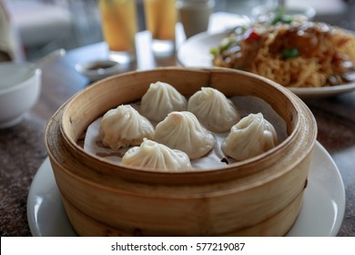 Xiao Long Bao, Streamed Pork Dumplings(Selective Focus)