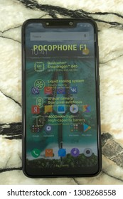 Xiaomi's Picophone F1 has a large 6.18-inch IPS display, Qualcomm Snapdragon processor with a frequency of 845 SOC and 6GB of RAM. - Russia Berezniki 17 November 2018 .