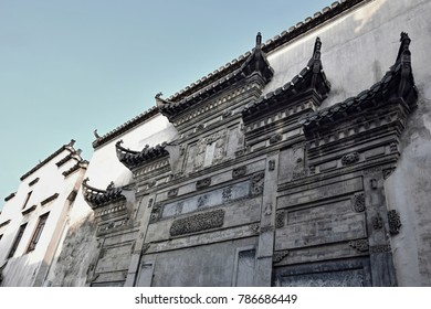 Xidi, a small ancient village in Anhui province in China near the Yellow Mountains.
