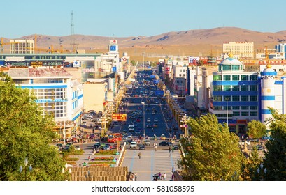 XILINGGUOLE, INNER MONGOLIA/ China-AUG 9: Xilinguole city scene on Aug 9, 2010 in Xilinguole, Inner Mongolia, China. The city is located in the north of China. It is a popular tourist spots.