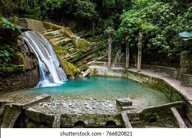 Xilitla place in Mexico selva
