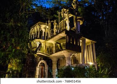 Xilitla ruins in Mexico pueblo magico place