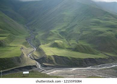 Xinaliq, Azerbaijan, a remote mountain village in the Greater Caucasus