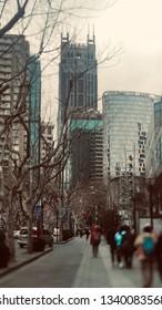 Xintiandi of Shanghai city