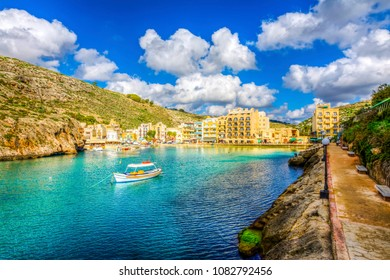 Xlendi town is one of the most beautiful place in Gozo Island
