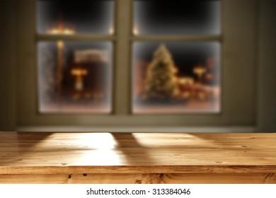 xmas time window