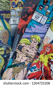 X-men comic books published by Marvel Comics also made into live action feature films by 20th Century Fox.