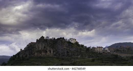 Xodos (Castellon, Spain). [Panoramic with 2:1 ratio]