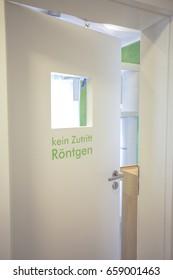 X-ray Door German