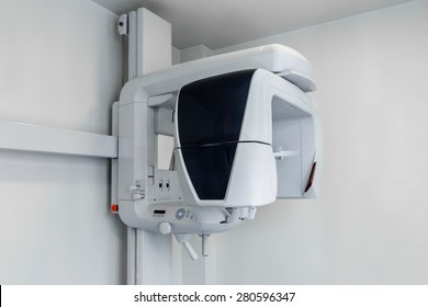 X-ray machine in the dental clinic