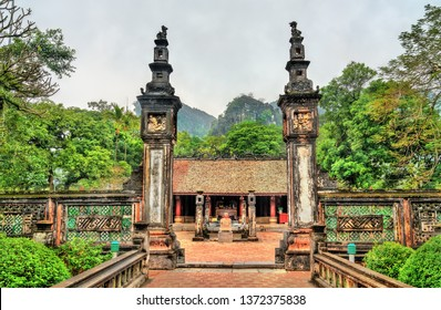Xuan Thuy temple at Hoa Lu, an ancient capital of Vietnam. Trang An Scenic Landscape Complex