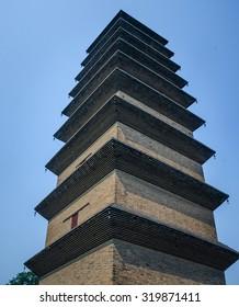 Xumi pagoda,Kaiyuan temple,Zhengding county