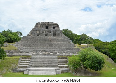 Xunantunich Archaeological Reserve ruins in Belize