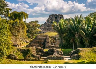 Xunantunich - Maya-Ruins