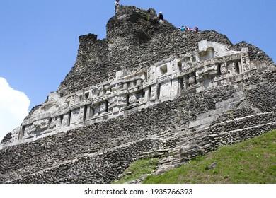 The Xunantunich Mayan ruins in Belize