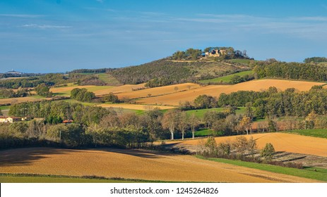 XVII century chateau on a hill in Southern France