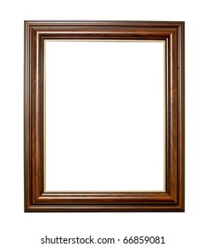 XXL-Isolated wooden Photo Frame