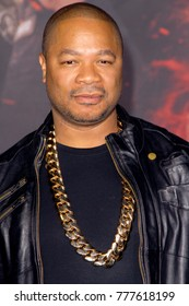"Xzibit attends the Netflix ""Bright"" premiere on Dec. 13, 2017 at the Regency Village Theatre in Los Angeles, CA."