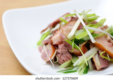 Ya Shang, the smoked and corned duck meat