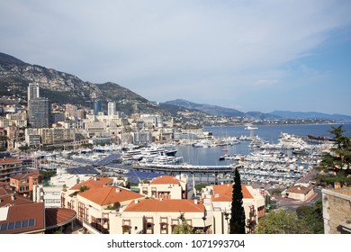 Yacht club port at Monte carlo, Monaco