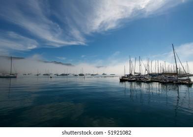 Yacht Harbor at Simonstown