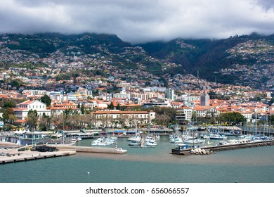 Yacht port of Funchal