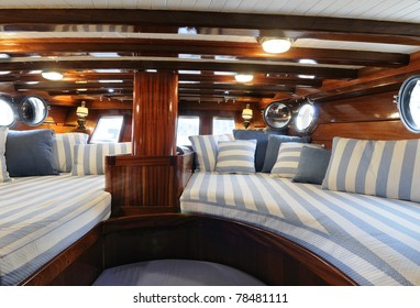 yacht sailboat interior