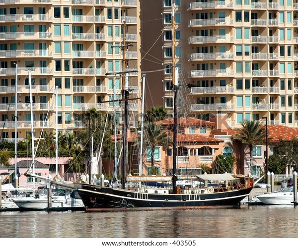 Yacht in Tampa Bay