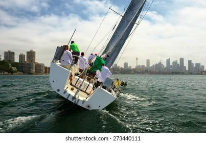 Yachting Australia. Sydney Harbour