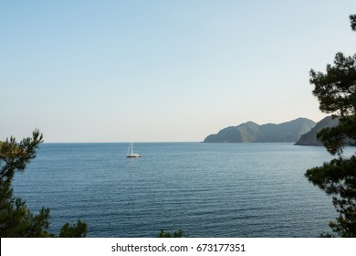 Yachts marmaris mountains