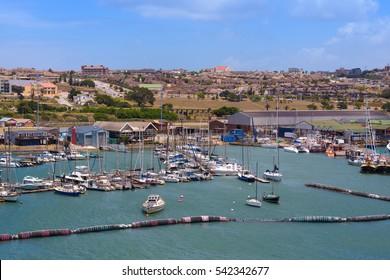 Yachts in Port Elizabeth, South Africa