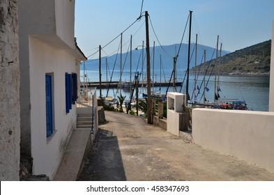 Yachts Port Greece village