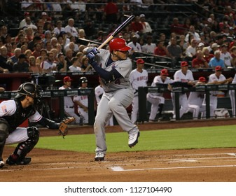 Yadier Molina catcher for the Saint Louis Cardinals at Chase Field in Phoenix,AZ,USA July 2,2018.