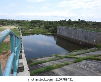 Yagachi Dam at Belur, Karnataka, India. It was constructed in the year 2001.