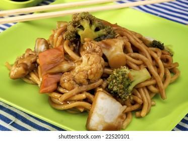 Yakissoba, chinese noodles