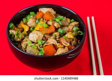 Yakissoba Frango Comida Chinesa