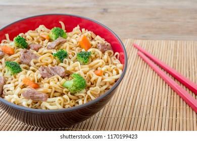 yakissoba japanese chinese food