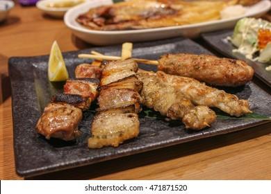 Yakitori. Japanese BBQ