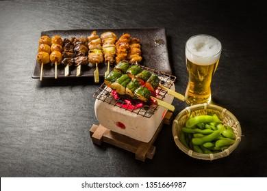 YAKITORI Japanese chicken barbecue