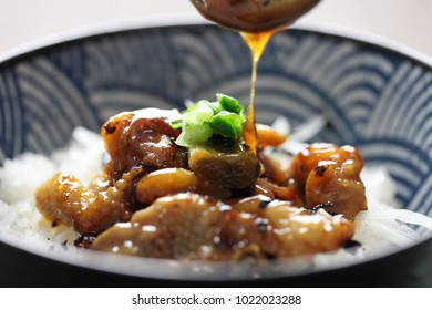 Yakitori rice bowl / Grilled Chicken Rice Bowl