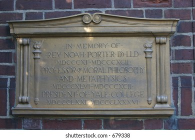 Yale sign