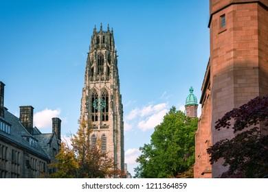 Yale University  campus architecture