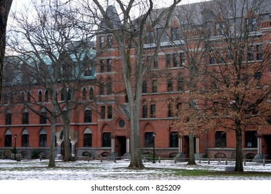 Yale's old campus dorms