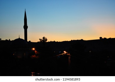 Yalova Saffron Mosque Sunset