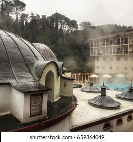 Yalova. Thermal hot springs resort. Turkey
