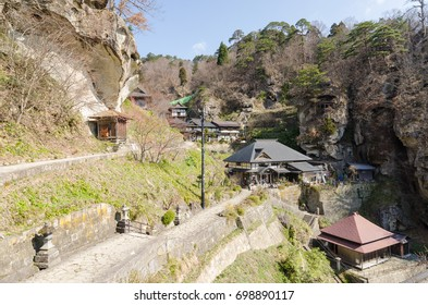 Yamagata temples in Japan
